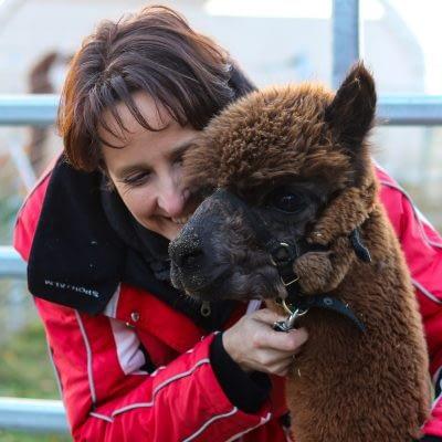Katja van de Ven - Coach und Alpakaguide
